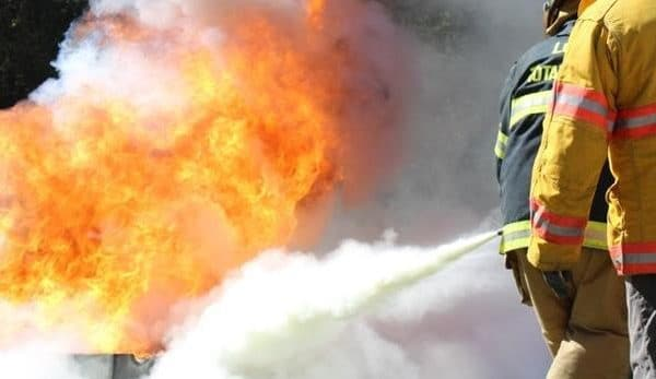 Combined Basic and Advanced Firefighting