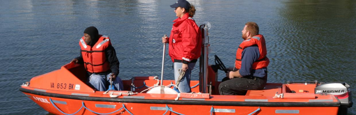 small boat training